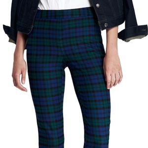 Flannel Pencil Pants